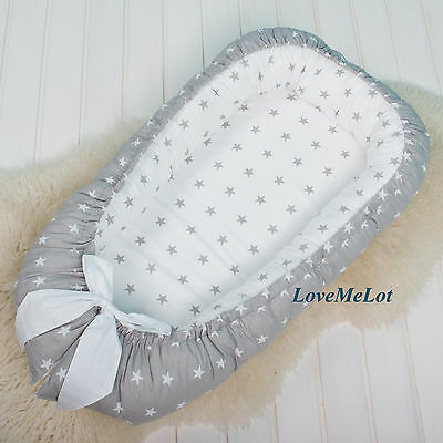 Baby Nest Silent Night for newborn, double sided co sleeper, babynest, baby pod