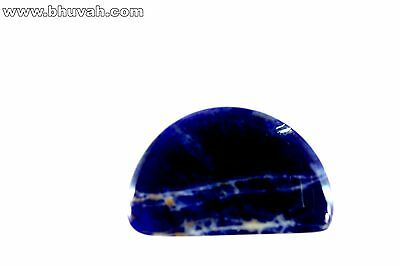 9.89ct One piece Gemstone Natural Loose Gem Sodalite Cabochon