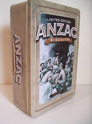 Anzac Biscuit Tin - Tobruk 1941 Limited Edition Unibic Biscuits Collectable 2011
