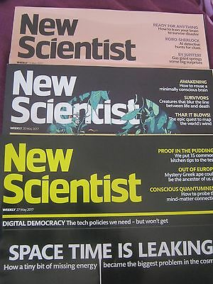 New Scientist Magazines May 2017 3 editions