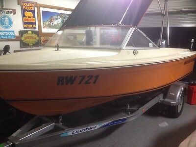haines hunter 146r fishing / ski boat