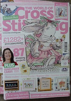 The World of Cross Stitching Magazine No 232 + FREE GIFT in excellent condition