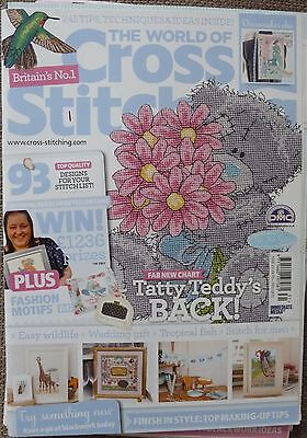 The World of Cross Stitching Magazine No 231 + FREE GIFT in excellent condition