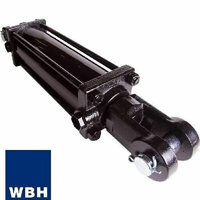 """Double Acting Hydraulic Tie Rod Cylinder 2"""" Bore x 8"""" Stroke ASAE"""