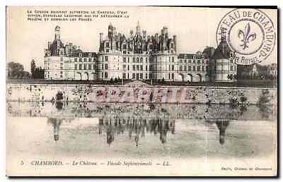 CPA Chambord le Chateau Facade Septentrionale