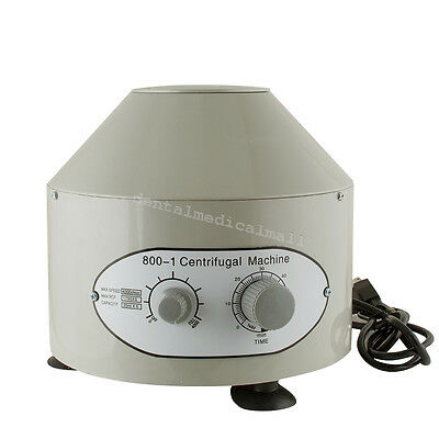 New 800-1 110V Electric Centrifuge Machine 4000rpm Lab Medical Practice