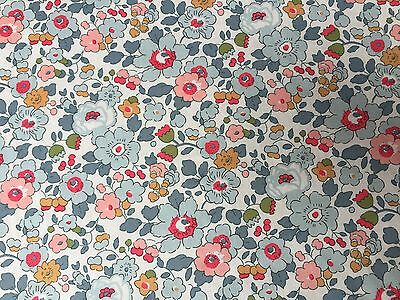Liberty Tana Lawn - Betsy (P)  - 100% Cotton Fabric  - All Sizes