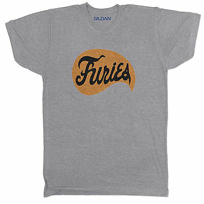 The Furies Inspired Baseball 70s 80s Tumblr Movie Film Cult Grey T Shirt