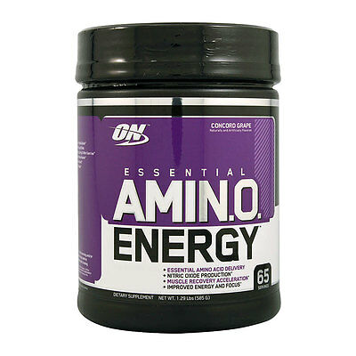 Optimum Nutrition Essential Amino Energy -BCAA Acid Intraworkout Recovery Powder