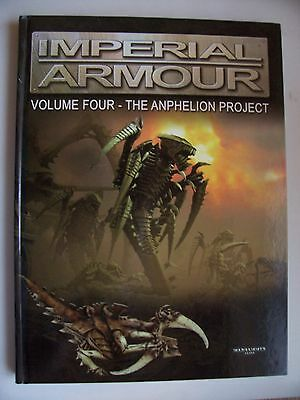 IMPERIAL ARMOUR VOL FOUR- RARE HARDBACK -2006 1st edition-UNREAD- EXCELLENT