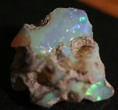 15.25ct Welo Crystal Opal Rough - Neon Confetti - AAA Piece - See Video