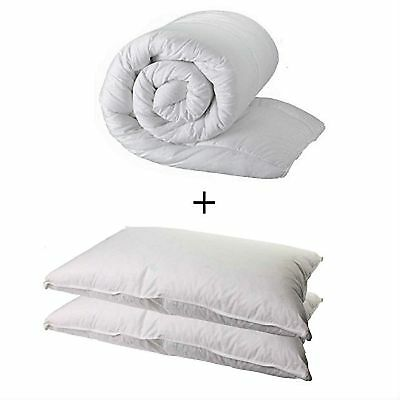 King Size  Duvet Quilt And 2 Pillows - King 4.5 Tog Quality Quilt And 2 Pillows