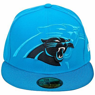Adult 7 1/8 Carolina Panthers Official 2016 On Field New Era 59FIFTY M56