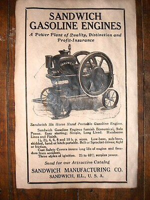 1981 Gas Engine Stover Engine Works Igniting the Charge Sandwich Plant Closes