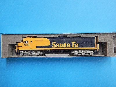 N scale Kato EMD SDP40F Santa fe road #5253 (DCC ready) NEW RELEASE