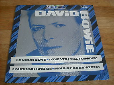 """David Bowie - London Boys - Love You Till Tuesday - 12"""" Vinyl - Limited To 7500"""