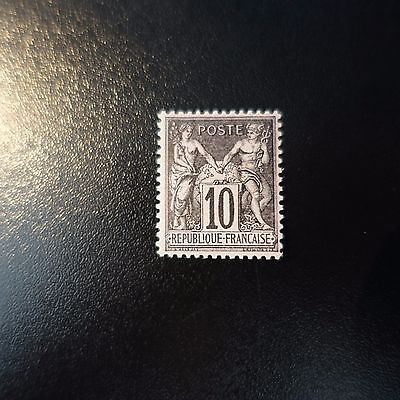 France Timbre Type Sage N°103 Neuf ** Luxe Gomme D'origine Mnh Cote 67€