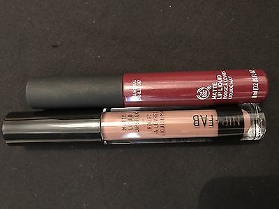 Matte Lips Bundle Mixed Lot Nip Fab Body Shop