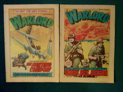 2 Of Warlord Comics No 410/ 411 Dated July / August 1982