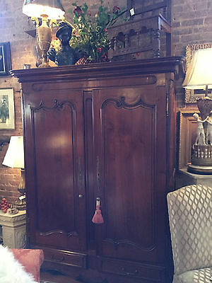 Cherry Armoire late 1800's