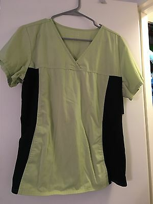 women's XL 15 scrub tops and 10 scrub bottoms (GUC) multiple designs and colors