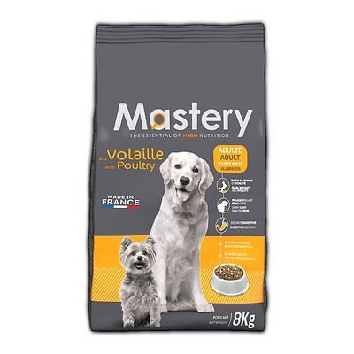 Mastery Dog Food Adult Poultry, Dry Food for Increased from Dog - 8 kg