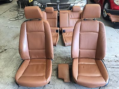 Bmw E92 3 Series Tan Leather Heated Seats And Door Cards Coupe