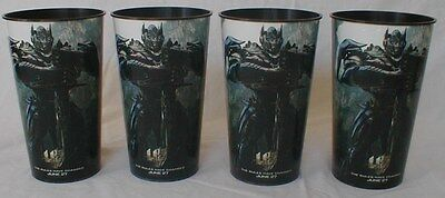 Transformers: Age of Extinction Theater Exclusive 44 oz Plastic Cups Set of Four