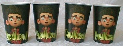Paranorman 12 Oz Plastic Cups (10) Theater Exclusive Promotional NEW UNUSED 2012