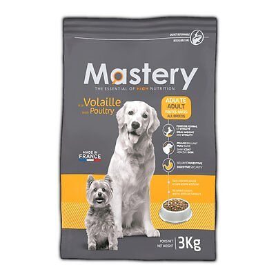 Mastery Dog Food Adult Poultry, Dry Food for Increased from Dog - 3 kg