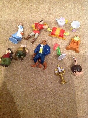 Disney Beauty And The Beast Figure Bundle - BELLE, GASTON, LAFOU, MAURICE ETC