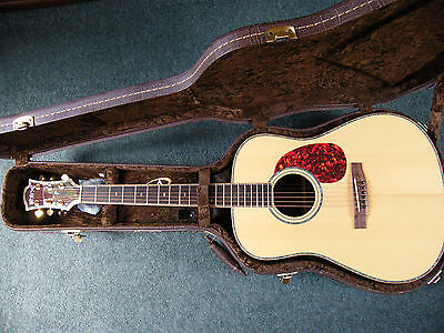 Shine Gd305-S Dreadnought Acoustic Guitar - All Solid Woods - Abalone
