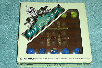 NOUGHTS & CROSSES TIC TAC TOE MARBLE GAME - multi post discount applies