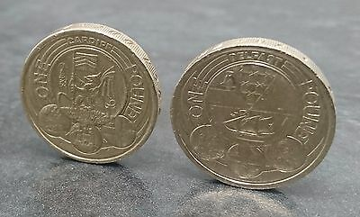 Rare 1 pound coin capital cities set of 2 coins Cardiff and Belfast