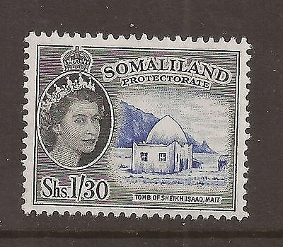 Somaliland Protectorate 1958 sg 145 lightly mounted mint