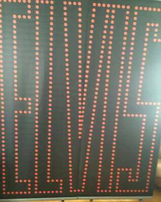 Large ELVIS Display Banner in excellent condition