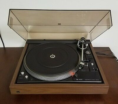 Vintage Dual CS-606 Electronic Direct Drive Turntable Record Player W/Dust Cover