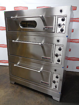 Reduced Price!! Garland Triple Stack Electric Deck/bake Oven Manufactured 7/09.