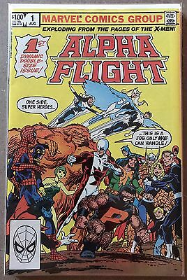Alpha Flight #1 ⭐️ 1st First In Own Title ⭐️ FN+ ⭐️ Marvel