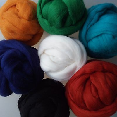 454 grams Merino Wool Roving for Needle Felting