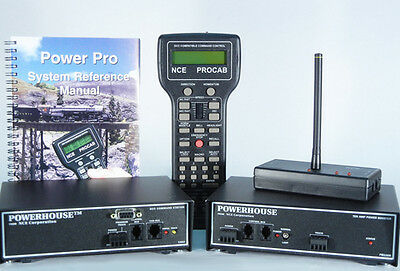 NCE PH-PRO-R Wireless 5 Amp Starter Set - JFD