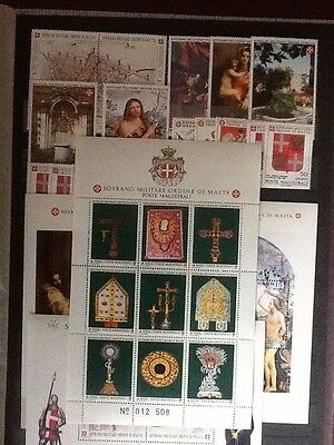 1991 Sovereign Military Order of Malta year sets + M/S M NH VF L5607