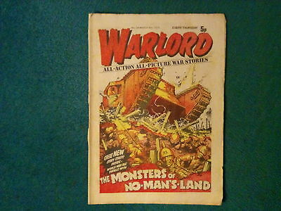Warlord Comic No 24 Dated March 8Th 1975