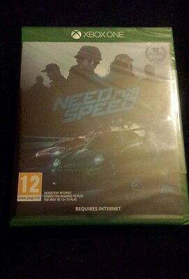 Xbox One Need for speed 2015 new and sealed