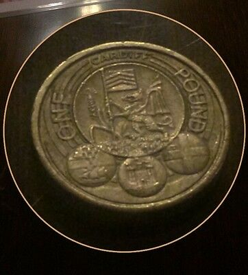 Capital Cities Cardiff £1 One Pound Coin 2011  Collect ***