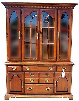 American Drew Vintage Empire Style China Cabinet