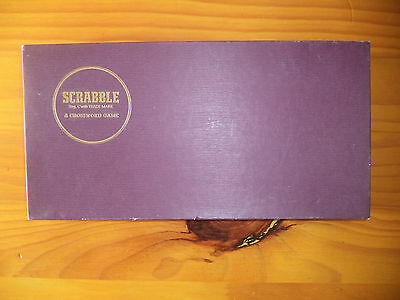 Vintage  Scrabble Board Game- Complete
