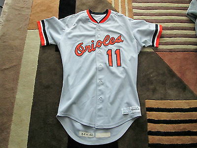 1984 MLB Ron Jackson Baltimore Orioles Game Worn jersey