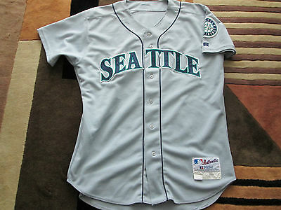 2000 MLB Al Martin Seattle Mariners Game worn Jersey - LOA