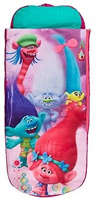 Trolls Junior ReadyBed - Kids Airbed And Sleeping Bag In One
